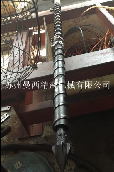 注塑机螺杆抛光 ,注塑机螺杆整修  ,注塑机螺杆翻新 ,定制新品